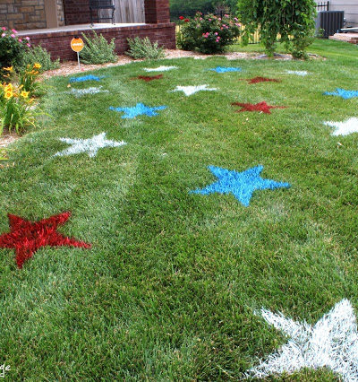 DIY on the FLy™- July 4th Decorating Ideas